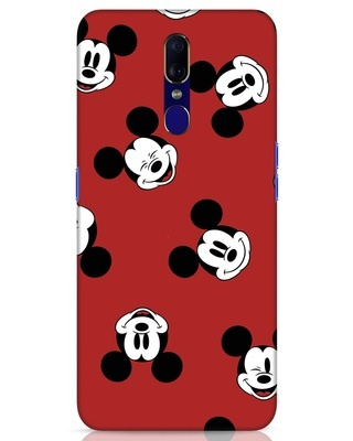 Shop Mickey Pattern Oppo F11 Mobile Cover-Front