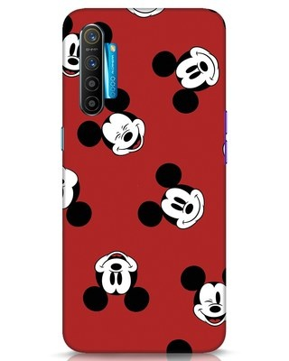 Shop Mickey Pattern Realme XT Mobile Cover-Front