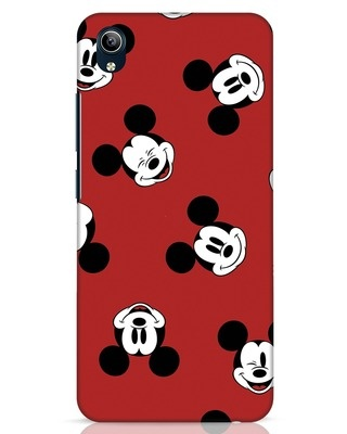 Shop Mickey Pattern Vivo Y91i Mobile Cover-Front