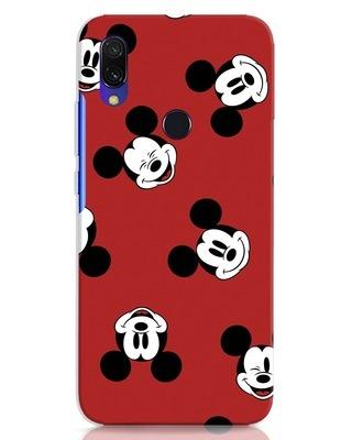 Shop Mickey Pattern Xiaomi Redmi 7 Mobile Cover-Front
