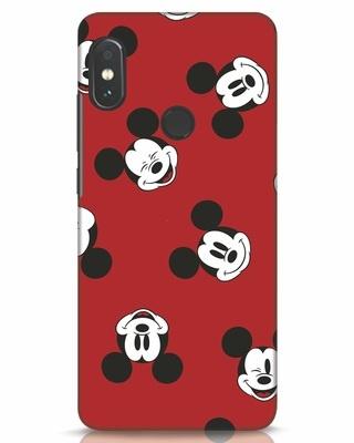 Shop Mickey Pattern Xiaomi Redmi Note 5 Pro Mobile Cover-Front