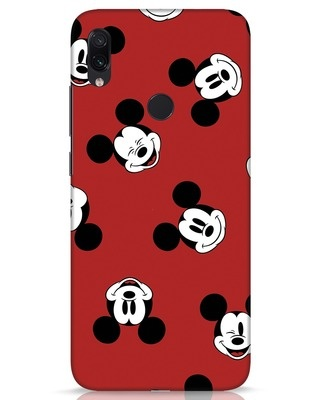 Shop Mickey Pattern Xiaomi Redmi Note 7s Mobile Cover-Front