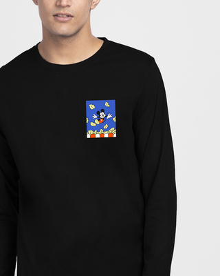 Shop Mickey Pop Full Sleeve T-Shirt (DL)-Front
