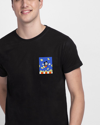 Shop Mickey Pop Half Sleeve T-Shirt (DL)-Front