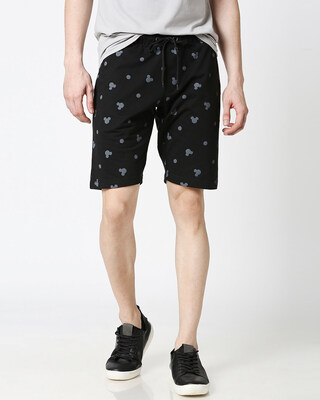 Shop Mickey silhouette AOP Shorts(DL)-Front