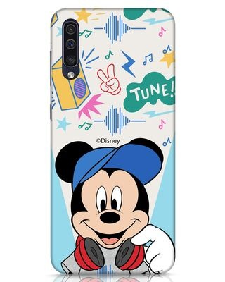 Shop Mickey Tune Samsung Galaxy A50 Mobile Cover (DL)-Front