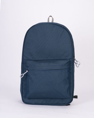 Shop Midnight Blue Laptop Backpack-Front