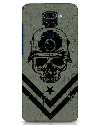 Shop Mil Act Xiaomi Redmi Note 9 Mobile Cover-Front