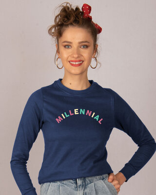 Shop Millennial Fleece Sweaters-Front
