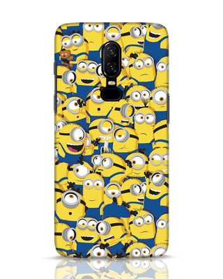 Shop Millminions OnePlus 6 Mobile Cover-Front