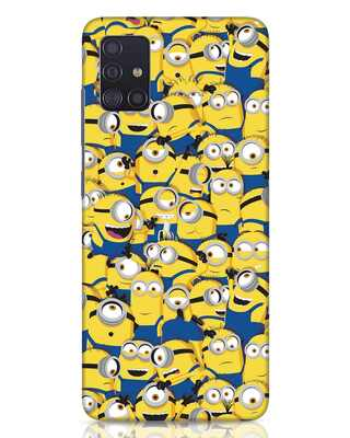 Shop Millminions Samsung Galaxy A51 Mobile Cover-Front