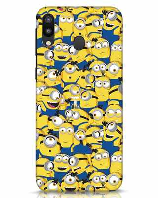 Shop Millminions Samsung Galaxy M20 Mobile Cover-Front