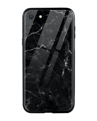 Shop Minimal Marble iPhone SE 2020 Mobile Cover-Front