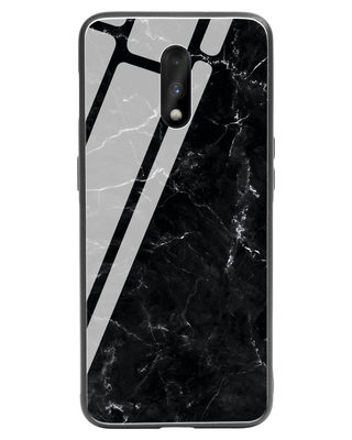 Shop Minimal Marble OnePlus 7 Glass Mobile Cover-Front