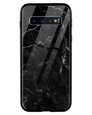 Shop Minimal Marble Samsung Galaxy S10 Mobile Cover-Front