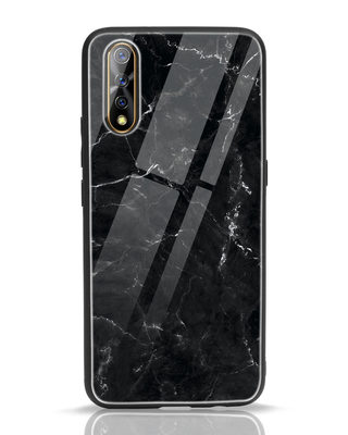 Shop Minimal Marble Vivo S1 Glass Mobile Cover-Front