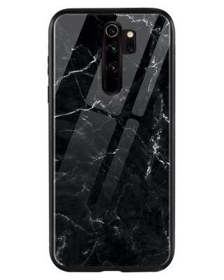 Shop Minimal Marble Xiaomi Redmi Note 8 Pro Mobile Cover-Front