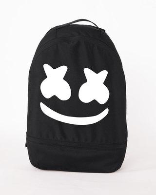 Shop Minimal Marshmello Essential mini Backpack-Front