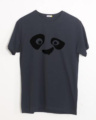 Buy Minimal Panda Half Sleeve T-Shirt Online India @ Bewakoof.com