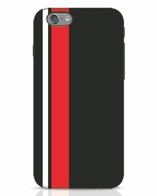 Shop Minimal Stripes iPhone 6s Mobile Cover-Front
