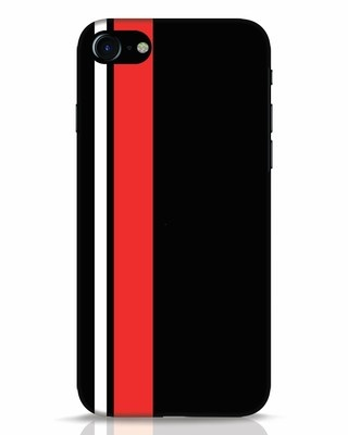 Shop Minimal Stripes iPhone 8 Mobile Cover-Front