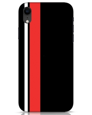 Shop Minimal Stripes iPhone XR Mobile Cover-Front