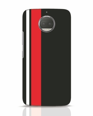 Shop Minimal Stripes Moto G5s Plus Mobile Cover-Front