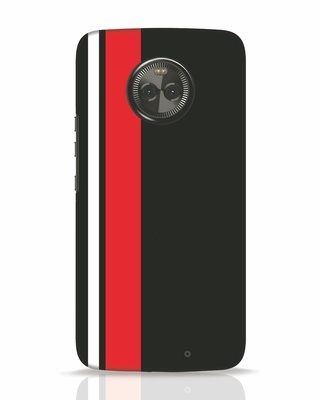 Shop Minimal Stripes Moto X4 Mobile Cover-Front