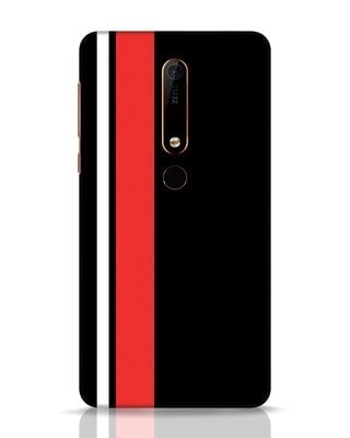 Shop Minimal Stripes Nokia 6.1 Mobile Cover-Front