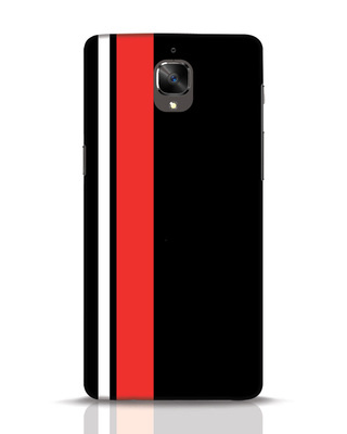 Shop Minimal Stripes OnePlus 3 Mobile Cover-Front