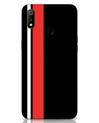 Shop Minimal Stripes Realme 3 Mobile Cover-Front