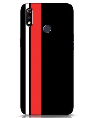 Shop Minimal Stripes Realme 3i Mobile Cover-Front