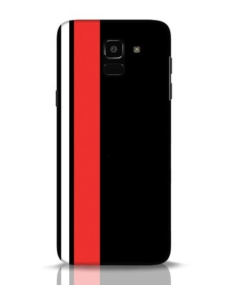 Shop Minimal Stripes Samsung Galaxy J6 Mobile Cover-Front