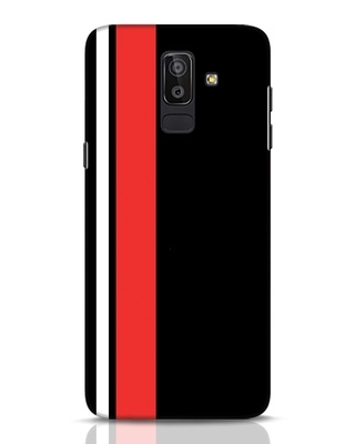 Shop Minimal Stripes Samsung Galaxy J8 Mobile Cover-Front