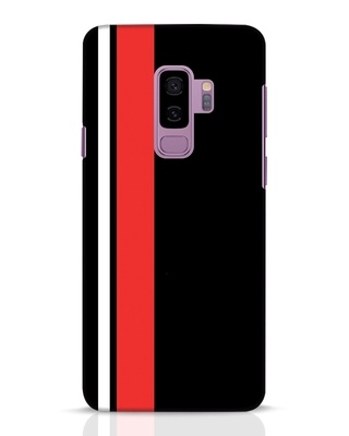 Shop Minimal Stripes Samsung Galaxy S9 Plus Mobile Cover-Front