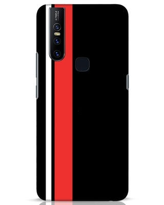 Shop Minimal Stripes Vivo V15 Mobile Cover-Front