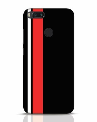 Shop Minimal Stripes Xiaomi Mi A1 Mobile Cover-Front