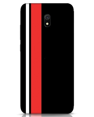 Shop Minimal Stripes Xiaomi Redmi 8A Mobile Cover-Front