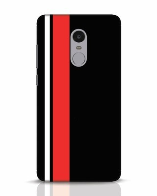 Shop Minimal Stripes Xiaomi Redmi Note 4 Mobile Cover-Front