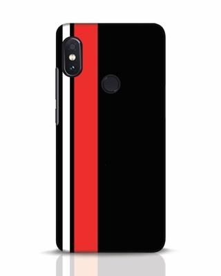 Shop Minimal Stripes Xiaomi Redmi Note 5 Pro Mobile Cover-Front