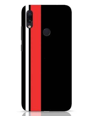 Shop Minimal Stripes Xiaomi Redmi Note 7 Mobile Cover-Front