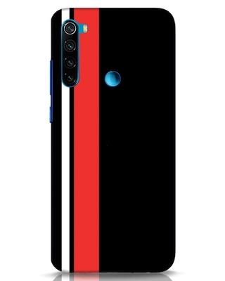Shop Minimal Stripes Xiaomi Redmi Note 8 Mobile Cover-Front