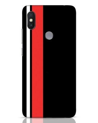 Shop Minimal Stripes Xiaomi Redmi Y2 Mobile Cover-Front