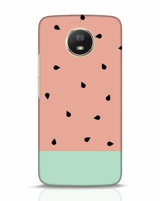 Shop Minimal Watermelon Moto G5s Mobile Cover-Front