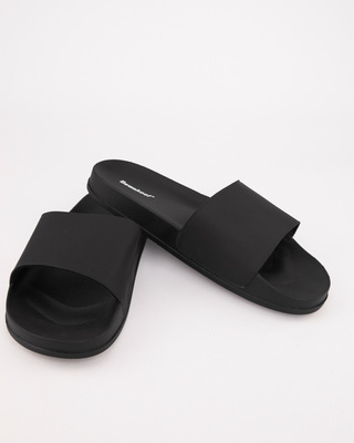 Shop Minimalistic Black Sliders-Front