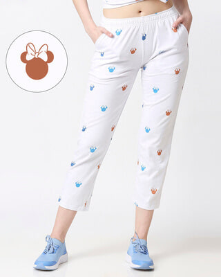 Shop Minnie Colorful Face (DL) AOP Pyjama-Front