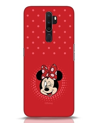 Shop Minnie Dots Oppo A5 2020 Mobile Cover (DL)-Front