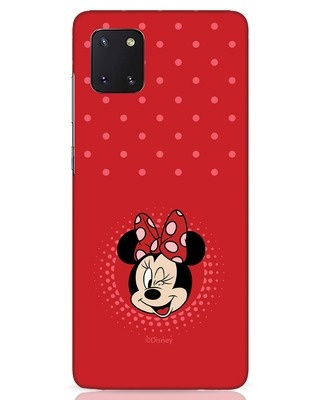 Shop Minnie Dots Samsung Galaxy Note 10 Lite Mobile Cover (DL)-Front