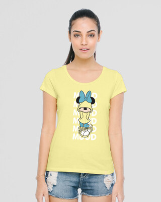 Shop Minnie Mood Half Sleeve T-Shirt (DL)-Front