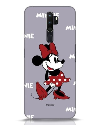 Shop Minnie Mouse Oppo A5 2020 Mobile Cover (DL)-Front